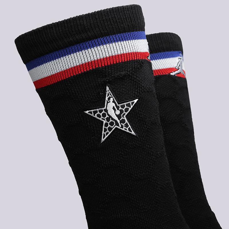 чёрные  носки jordan asg socks SX7411-010 - цена, описание, фото 3