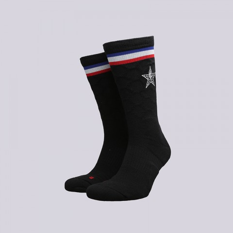 чёрные  носки jordan asg socks SX7411-010 - цена, описание, фото 1