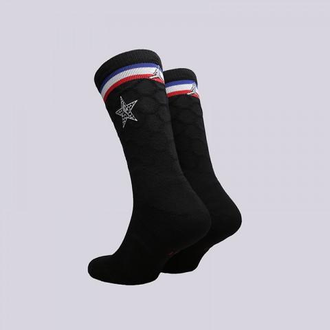 чёрные  носки jordan asg socks SX7411-010 - цена, описание, фото 2