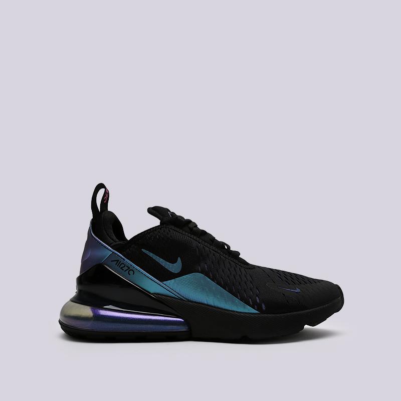 8da4986f63a045 мужские чёрные, синие кроссовки nike air max 270 AH8050-020 - цена, описание