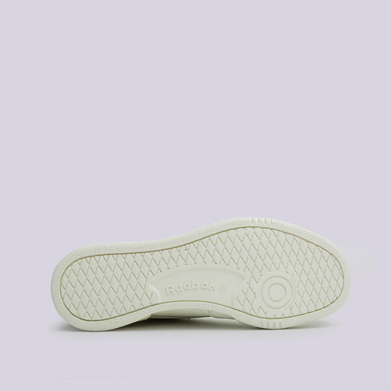 e7e436a8 мужские бежевые кроссовки reebok club c 85 mu DV3895 - цена, описание, фото  2