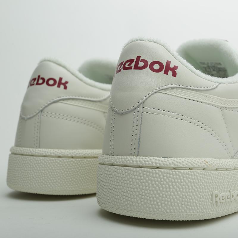 ef1edbdd мужские бежевые кроссовки reebok club c 85 mu DV3895 - цена, описание, фото  4