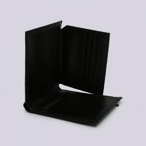 чёрный  бумажник carhartt wip leather rock-it wallet i023850-black - цена, описание, фото 5