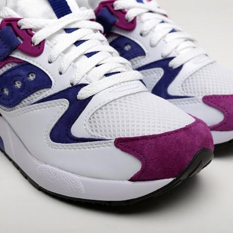 мужские белые  кроссовки saucony grid 9000 S704392 - цена, описание, фото 6