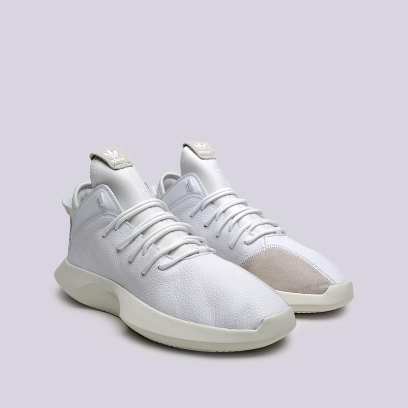 мужские белые  кроссовки adidas crazy 1 adv BD8016 - цена, описание, фото 3