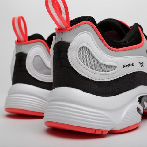 мужские чёрные, серые, белые  кроссовки reebok daytona dmx vector DV3891 - цена, описание, фото 4