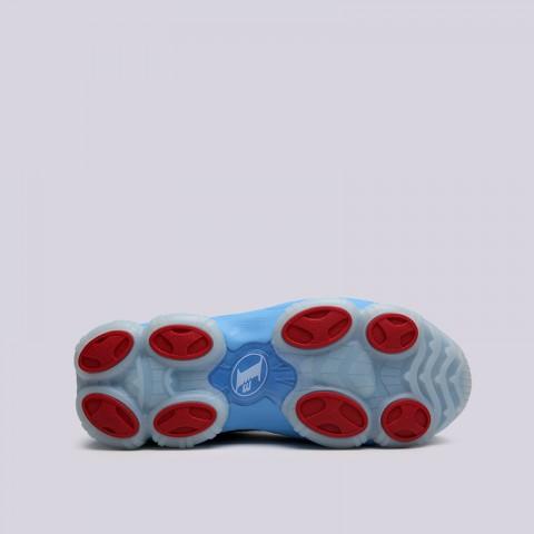 мужские белые, голубые  кроссовки reebok iverson legacy CN8405 - цена, описание, фото 3