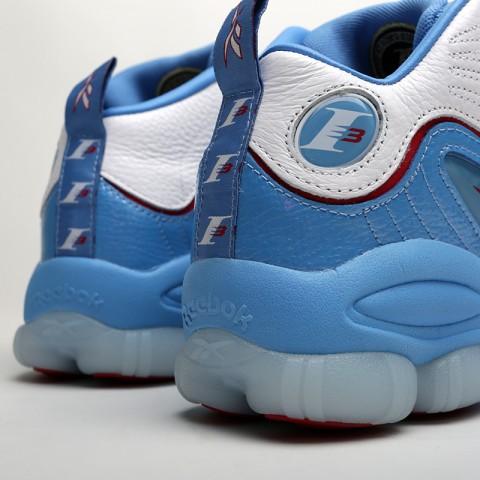 мужские белые, голубые  кроссовки reebok iverson legacy CN8405 - цена, описание, фото 4