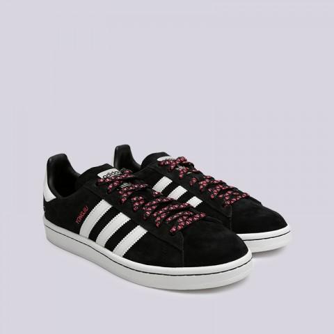 мужские чёрные  кроссовки adidas campus G27580 - цена, описание, фото 3