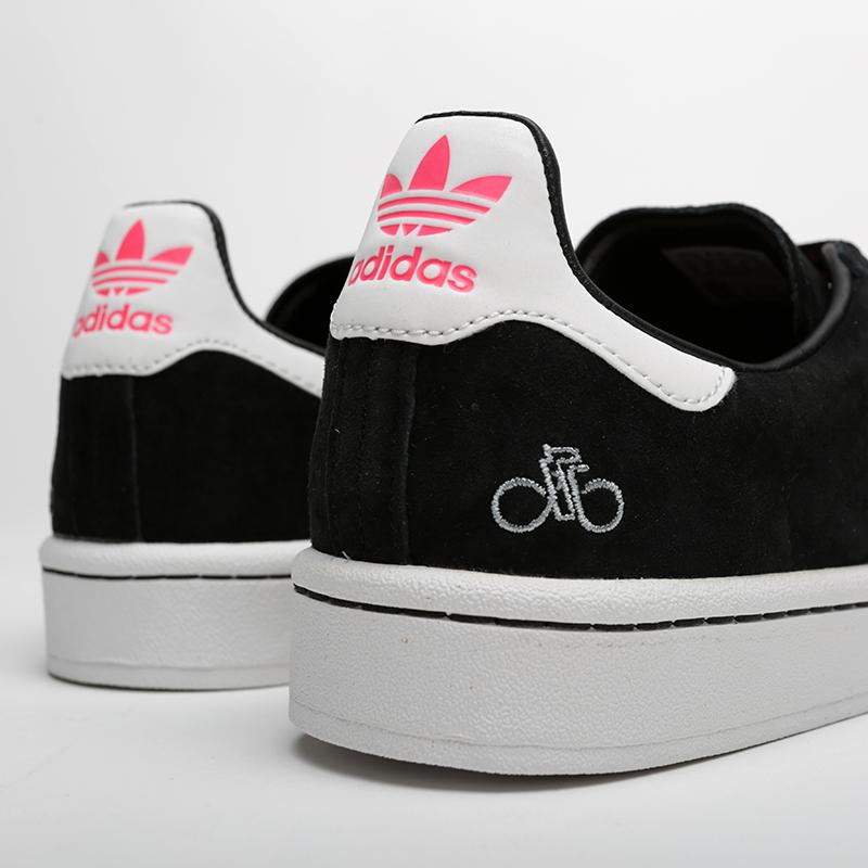 мужские чёрные  кроссовки adidas campus G27580 - цена, описание, фото 4