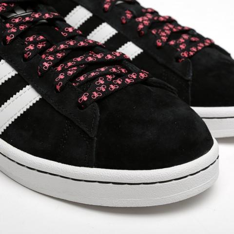 мужские чёрные  кроссовки adidas campus G27580 - цена, описание, фото 5