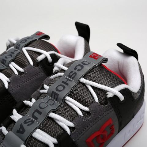 мужские чёрные, серые  кроссовки dc shoes lynx og ADYS100425-grf/grf - цена, описание, фото 6