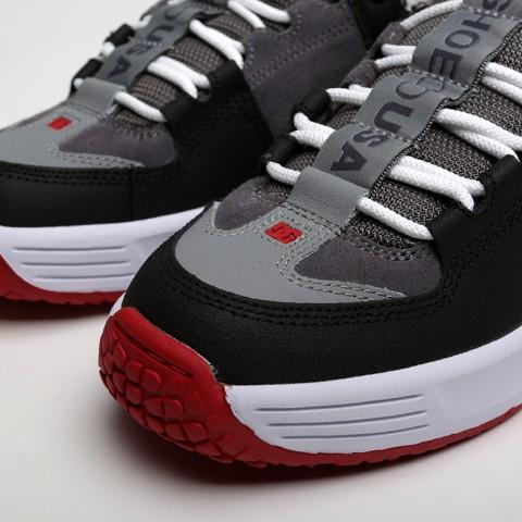 мужские чёрные, серые  кроссовки dc shoes lynx og ADYS100425-grf/grf - цена, описание, фото 5