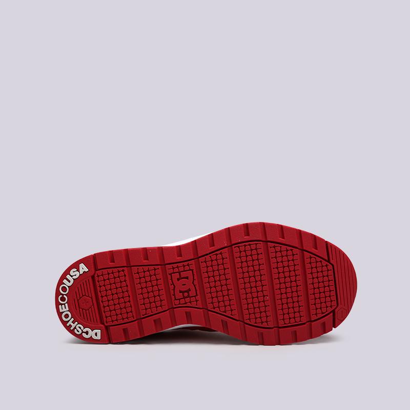 женские красные  кроссовки dc shoes vandium se ADJS200026-red/red - цена, описание, фото 2