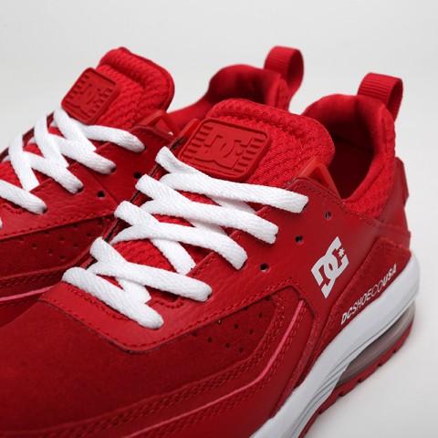 женские красные  кроссовки dc shoes vandium se ADJS200026-red/red - цена, описание, фото 5