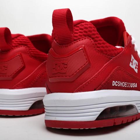 женские красные  кроссовки dc shoes vandium se ADJS200026-red/red - цена, описание, фото 4