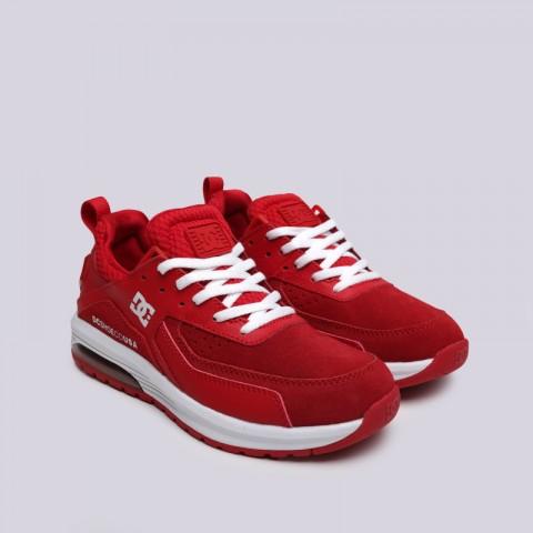 женские красные  кроссовки dc shoes vandium se ADJS200026-red/red - цена, описание, фото 3