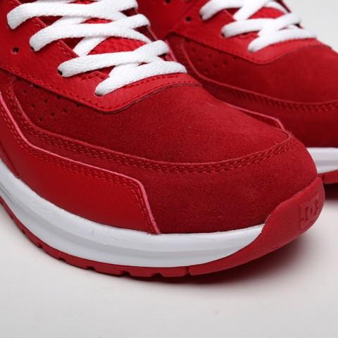 женские красные  кроссовки dc shoes vandium se ADJS200026-red/red - цена, описание, фото 6