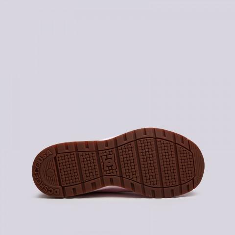 женские розовые  кроссовки dc shoes vandium se ADJS200026-pnk/pnk - цена, описание, фото 2
