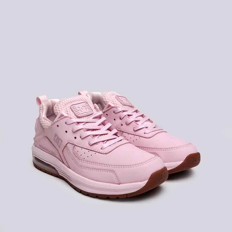 женские розовые  кроссовки dc shoes vandium se ADJS200026-pnk/pnk - цена, описание, фото 3