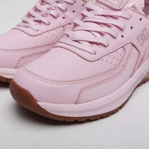женские розовые  кроссовки dc shoes vandium se ADJS200026-pnk/pnk - цена, описание, фото 5