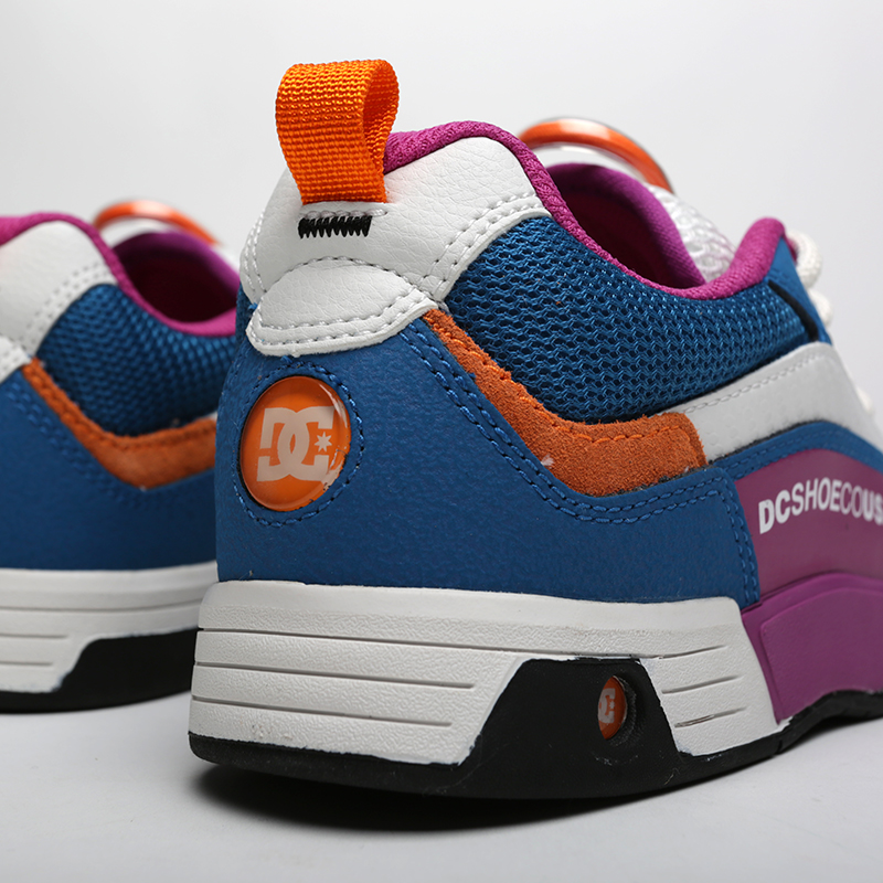мужские мультиколор  кроссовки dc shoes legacy 98 slim ADYS100445-xbbw/xbbw - цена, описание, фото 6