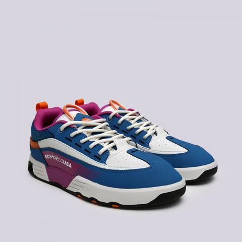 мужские мультиколор  кроссовки dc shoes legacy 98 slim ADYS100445-xbbw/xbbw - цена, описание, фото 3
