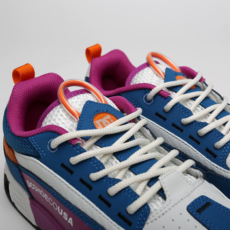 мужские мультиколор  кроссовки dc shoes legacy 98 slim ADYS100445-xbbw/xbbw - цена, описание, фото 4