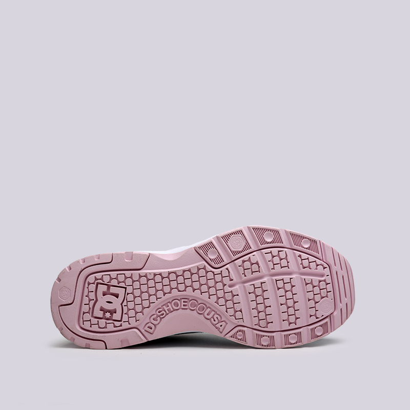 женские розовые, голубые  кроссовки dc shoes e.tribeka se ADJS200015-lbl/lbl - цена, описание, фото 2