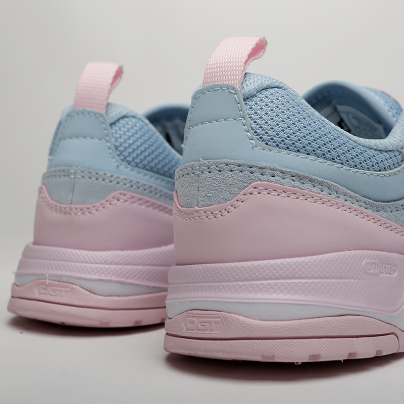 женские розовые, голубые  кроссовки dc shoes e.tribeka se ADJS200015-lbl/lbl - цена, описание, фото 4