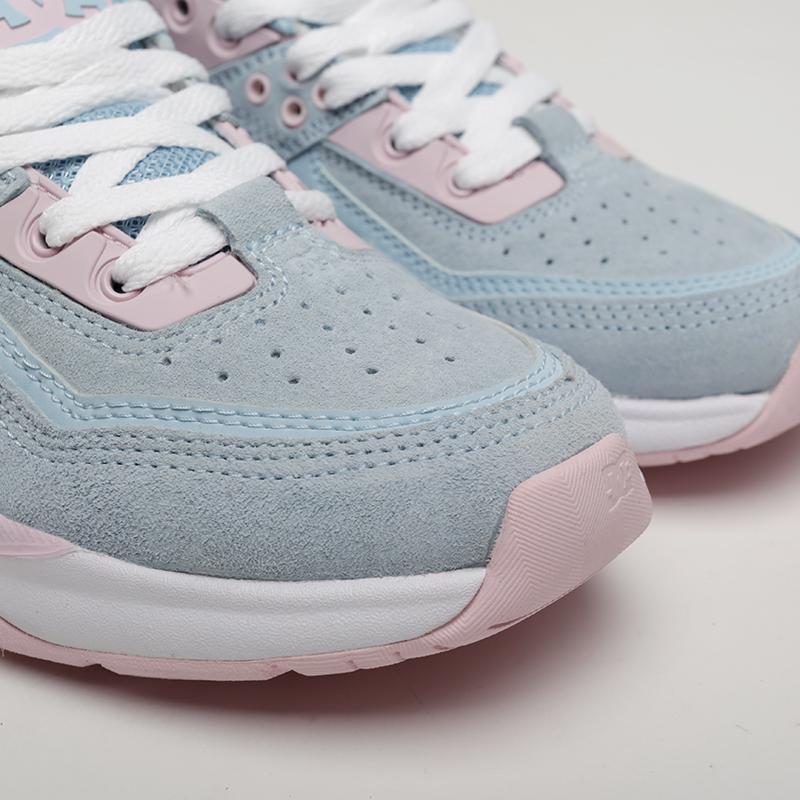 женские розовые, голубые  кроссовки dc shoes e.tribeka se ADJS200015-lbl/lbl - цена, описание, фото 6
