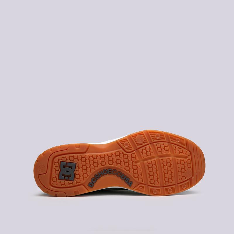мужские серые, зелёные  кроссовки dc shoes e.tribeka ADYS700173-ggb/ggb - цена, описание, фото 2