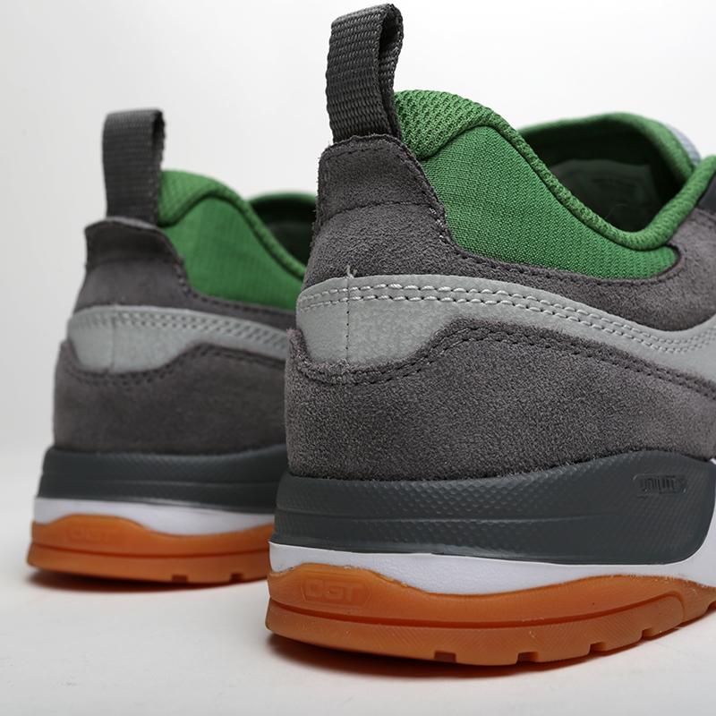 мужские серые, зелёные  кроссовки dc shoes e.tribeka ADYS700173-ggb/ggb - цена, описание, фото 4