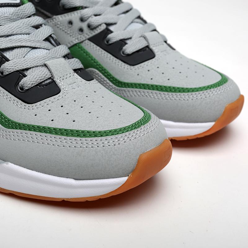 мужские серые, зелёные  кроссовки dc shoes e.tribeka ADYS700173-ggb/ggb - цена, описание, фото 5