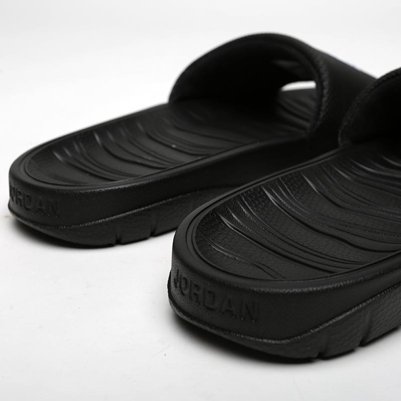 мужские чёрные  сланцы jordan break slide AR6374-001 - цена, описание, фото 4