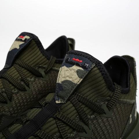 мужские зелёные  кроссовки nike lebron xvi low CI2668-300 - цена, описание, фото 4