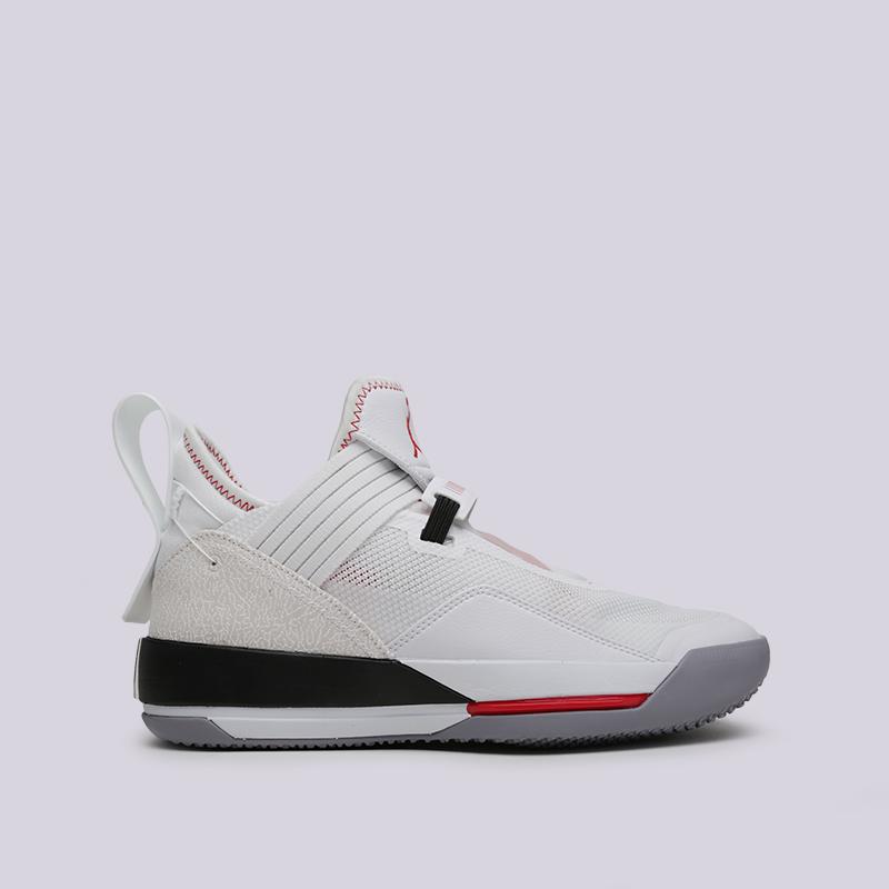 мужские белые  кроссовки jordan 33 se СD9560-106 - цена, описание, фото 1