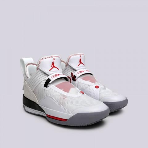 мужские белые  кроссовки jordan 33 se СD9560-106 - цена, описание, фото 3