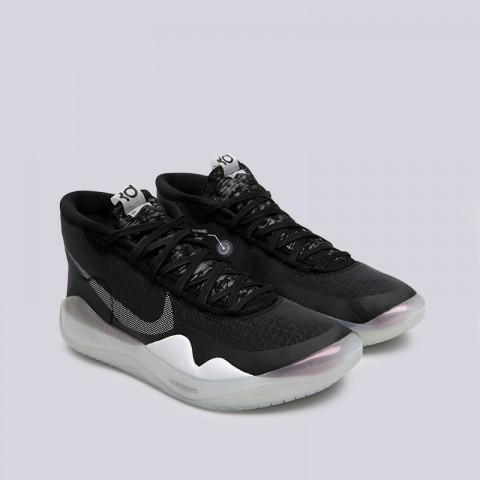 мужские чёрные  кроссовки nike zoom kd12 AR4229-001 - цена, описание, фото 3