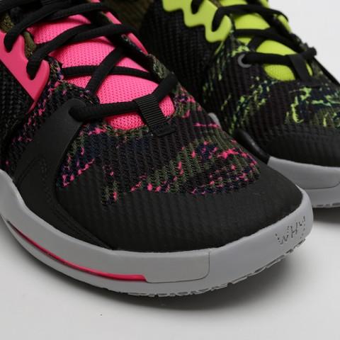 мужские чёрные  кроссовки jordan why not zero.2 AO6219-003 - цена, описание, фото 4