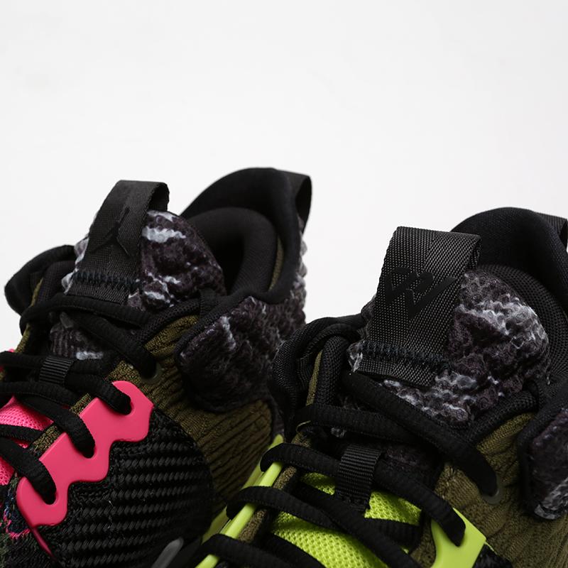 мужские чёрные  кроссовки jordan why not zero.2 AO6219-003 - цена, описание, фото 5