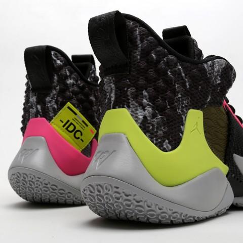мужские чёрные  кроссовки jordan why not zero.2 AO6219-003 - цена, описание, фото 6