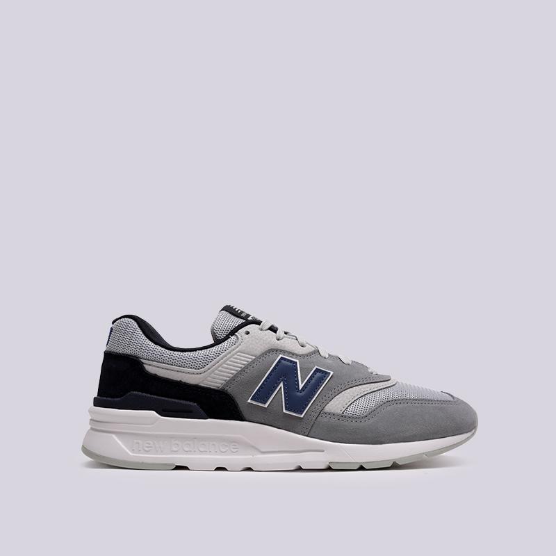 Кроссовки New Balance, 997, Серый