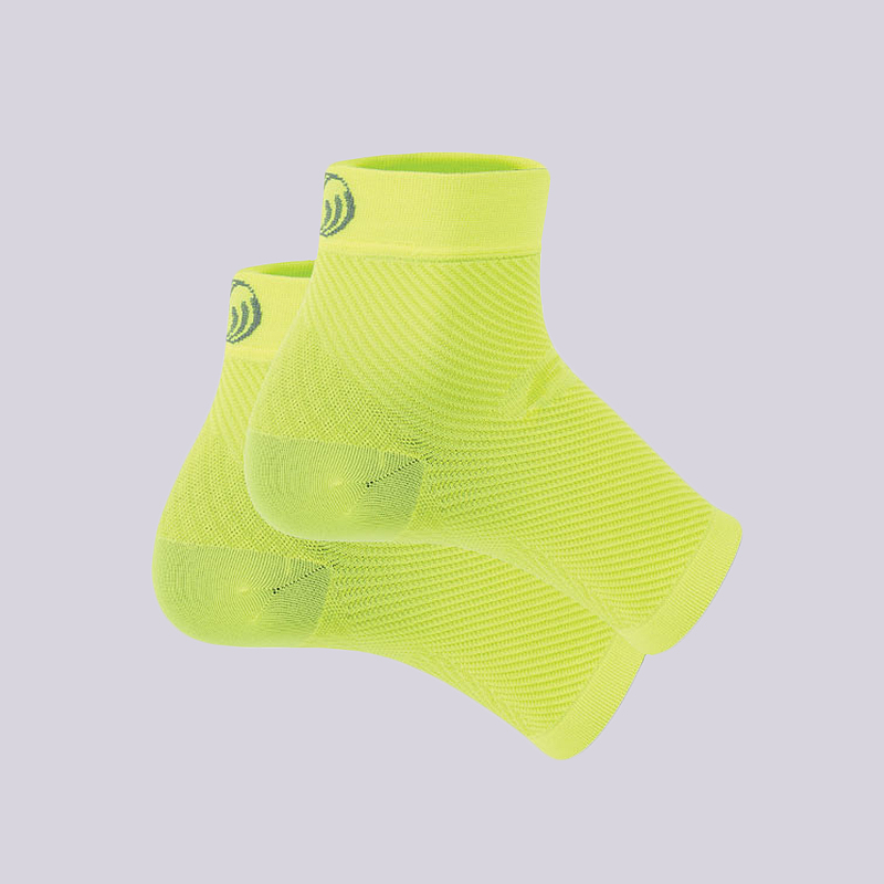 желтый  фиксатор голеностопа os1st performance foot sleeve FS6-yellow - цена, описание, фото 1