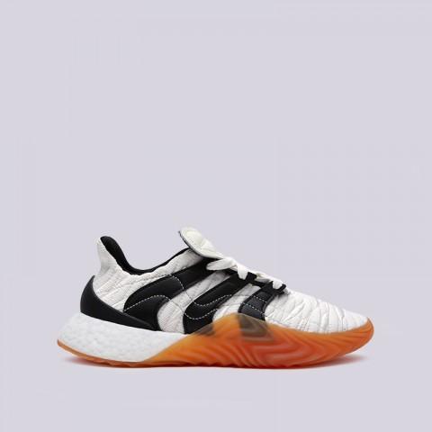 мужские белые  кроссовки adidas sobakov boost BD7674 - цена, описание, фото 1