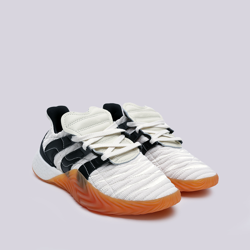 мужские белые  кроссовки adidas sobakov boost BD7674 - цена, описание, фото 3