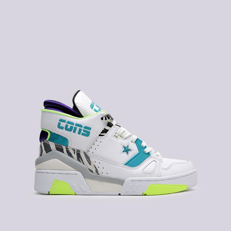 4d39b560 мужские белые кроссовки converse erx 260 mid 163783 - цена, описание, фото 1