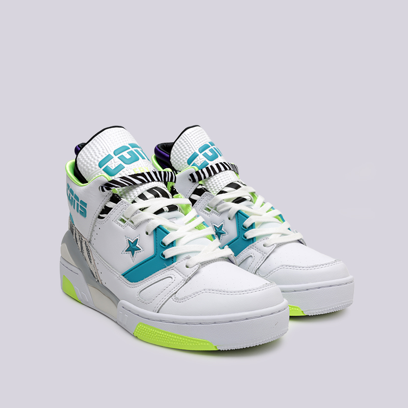 4946ccab мужские белые кроссовки converse erx 260 mid 163783 - цена, описание, фото 3
