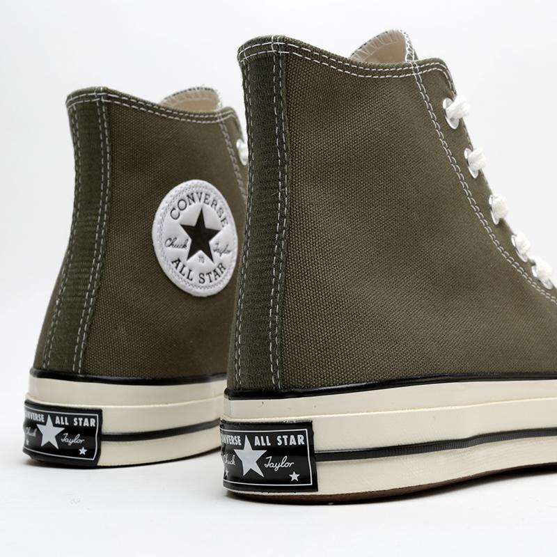 зелёные  кроссовки converse chuck 70 hi 162052 - цена, описание, фото 5