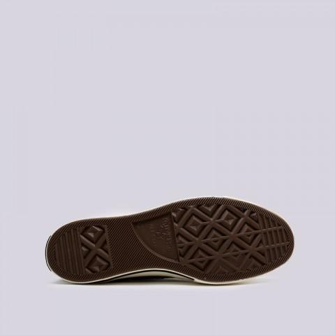 зелёные  кроссовки converse chuck 70 hi 162052 - цена, описание, фото 2
